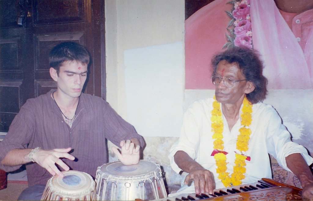 My first tabla maestro, Uttam Das, RIP.